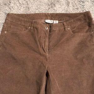 Liz Claiborne Corduroy Pants Size 16W